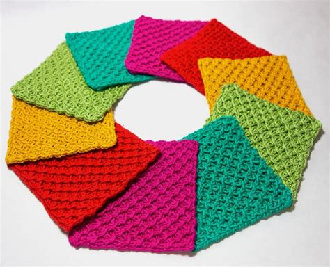 7 Knitted Coasters For Tabletop Protection Decor