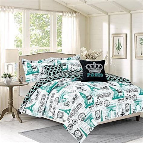 eiffel tower comforter sets bedding find premium eiffel tower bedding