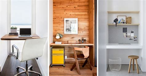 small desk home office small home office idea make use of a small space and