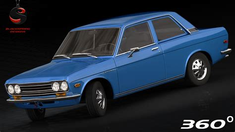 1970 Nissan Datsun 510 by 3d Nissan Datsun 510 1970 Model