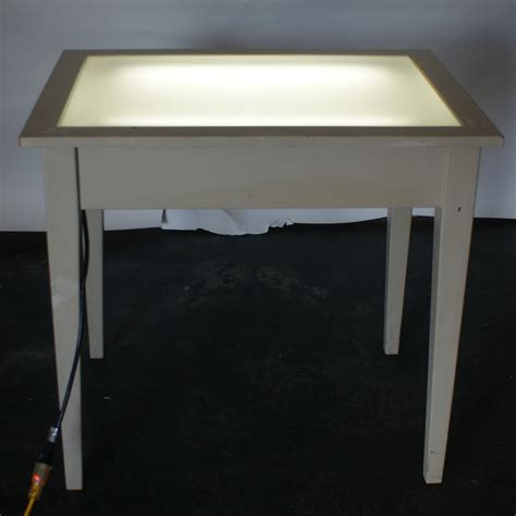 lights table vintage drafting light table desk wood glass ebay