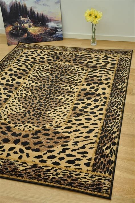 animal print rugs leopard print area rugs cheap small large animal