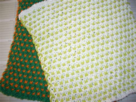 slip knit free patterns garter slip stitch dishcloth