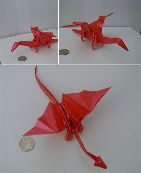 origami dragons origami step by step paper