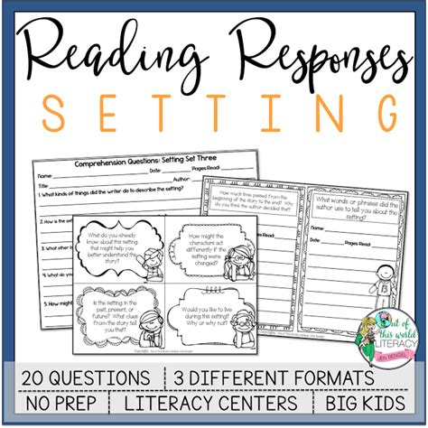 picture books for teaching setting 3 books and lessons for teaching setting