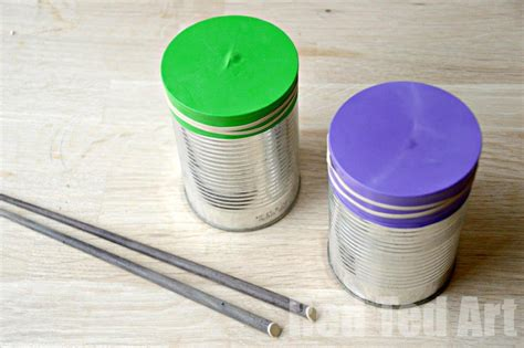 drum crafts for tin can drums ted s