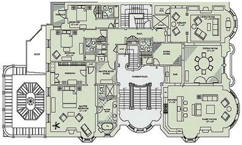floor plan blueprint mansion floor plans authentic house