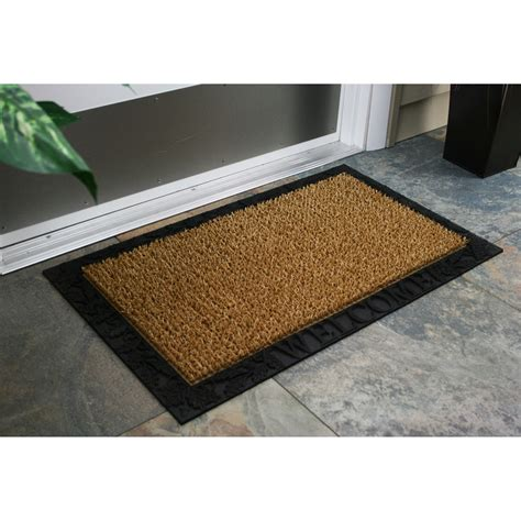 acorn rubber st door mats welcome doormats