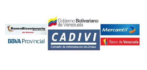 bancos en venezuela sobrevivir con 78 a 241 os a cadivi y la banca en venezuela