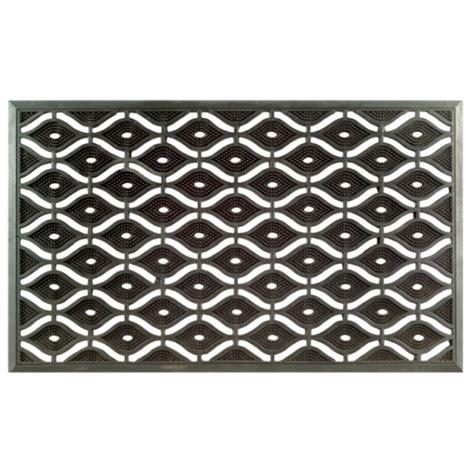 eye rubber st rubber door mat rubber door mat wrought iron effect