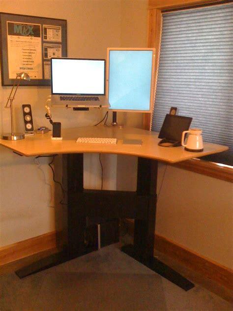 corner stand up desk stand up corner desk hostgarcia
