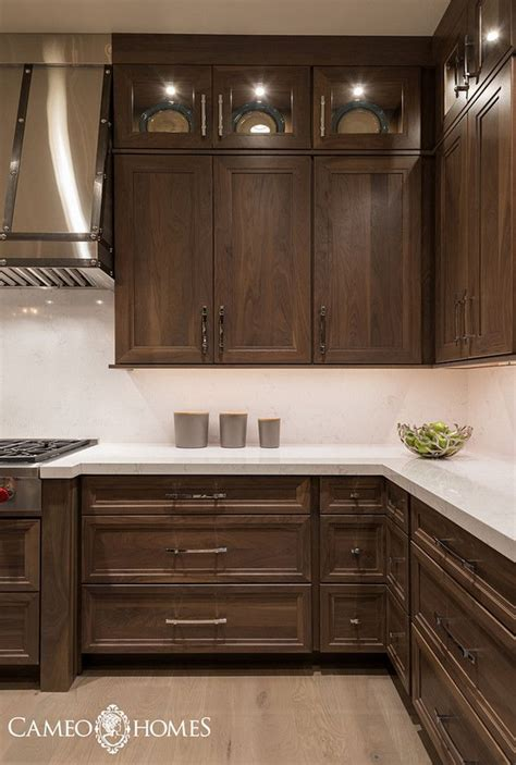 walnut cabinets best 25 walnut cabinets ideas on walnut