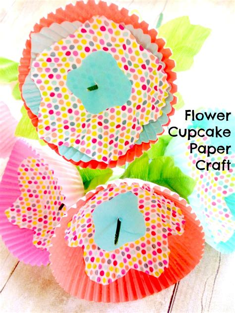 paper cupcake craft paper muffin cup crafts
