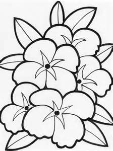 coloring book pictures of flowers free printable flower coloring pages for best