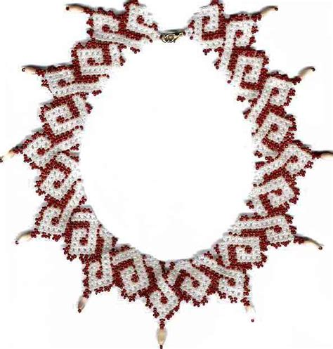 bead stitching for beginners beginner pattern seed beaded necklace beading