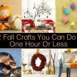 one hour craft projects 23 of the most diy projects
