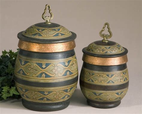 decorative kitchen canisters 28 decorative canisters uttermost 3 gian