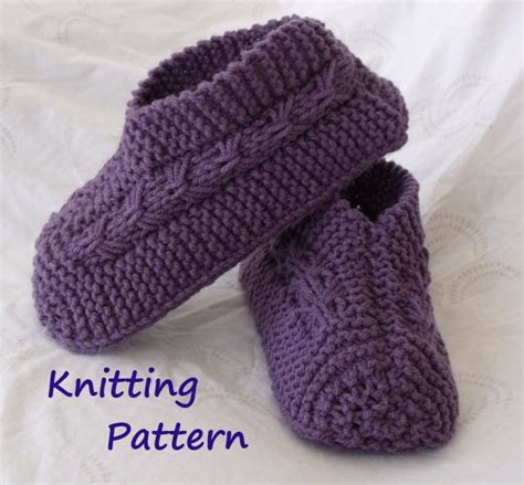 knitting slippers kweenbee and me learn to knit slippers with these patterns