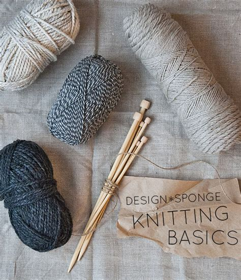 how to knit diy in the new year knitting basics make