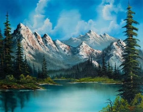 bob ross paintings buy best 25 mountain paintings ideas on paintings