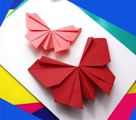origami butterflies origami butterfly easy to do paper butterfly wall