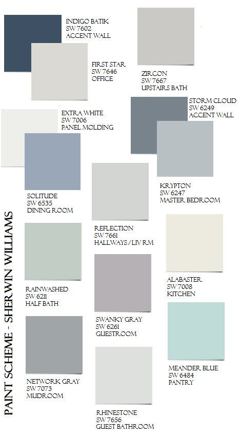 paint colors in the gray family 1000 images about paint whole house color palette on