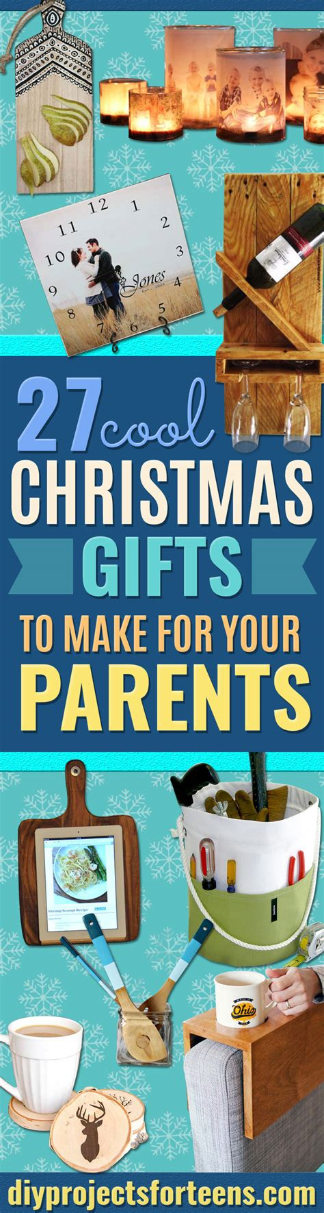 presents to make cool gifts to make for your parents diy