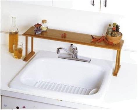 kitchen the sink shelf lipper international bamboo the sink shelf modern