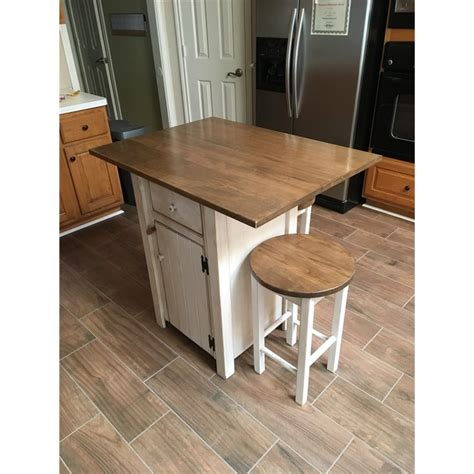 bar height kitchen island small primitive kitchen island in counter height with 2 stools