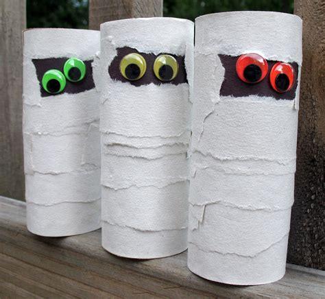 mummy craft for cardboard mummies monthly seasonal