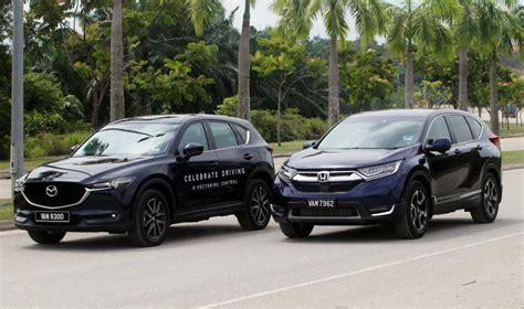 Mazda Cx 5 Compared To Honda Crv by Suv Supremacy Battle 2017 Honda Cr V 1 5 Tc P Vs Mazda Cx