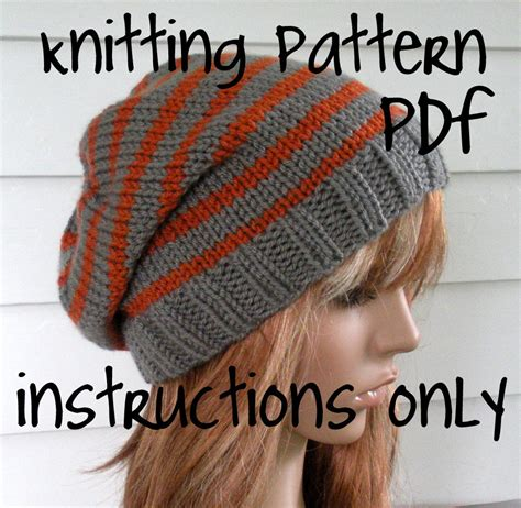 how to knit a slouchy beanie knit slouchy beanie pattern knit hat pattern chunky easy