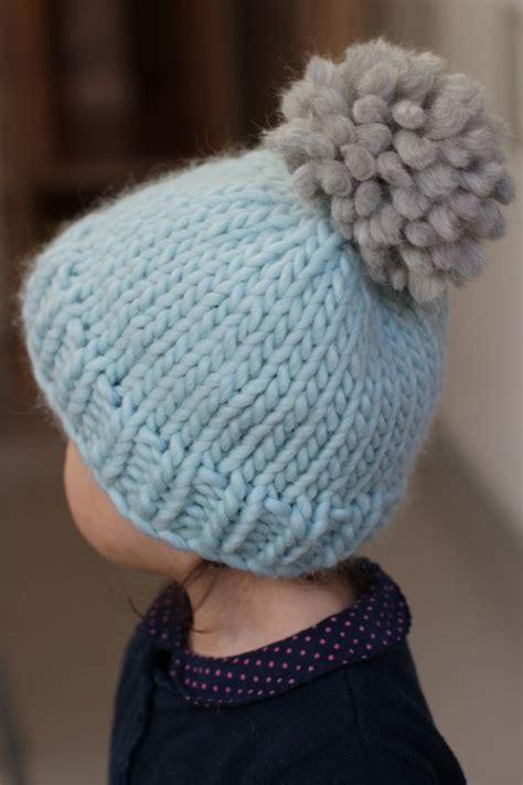 knitting bobble pattern easy bobble hat by helen stewart free beginners hat