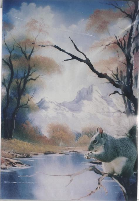 bob ross painting owls bob ross wildlife how to pattern packets directions photo