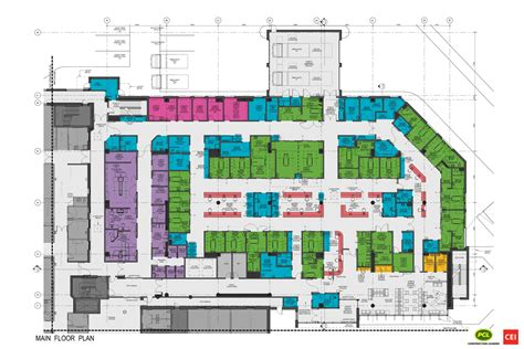 floor plan of a hospital the design yukon hospital corporation