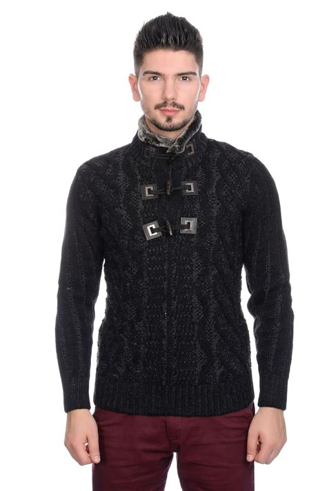mens cable knit cardigan sweater bnwt mens designer cable knit jumper cardigan sweater with