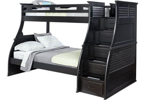 steps for bunk beds belmar black 4 pc step storage bunk bed bunk