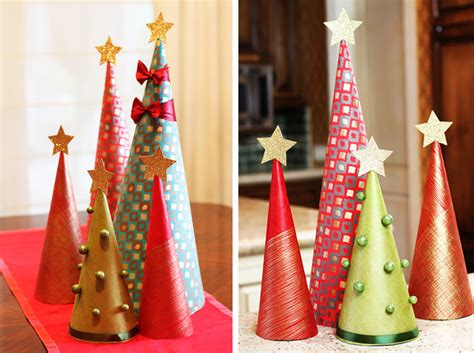 how to make decorations for the tree how to make wrapping paper tree decorations