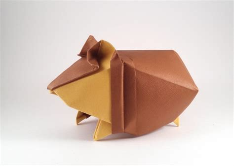 how to make an origami hamster hamster yoo tae yong gilad s origami page