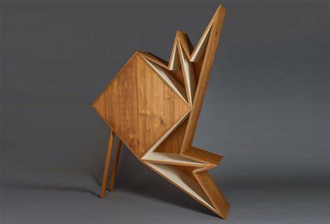 furniture origami aljoud lootah s oru origami furniture is made from teak