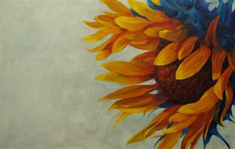 acrylic paint gallery eleletsitz sunflower acrylic painting images