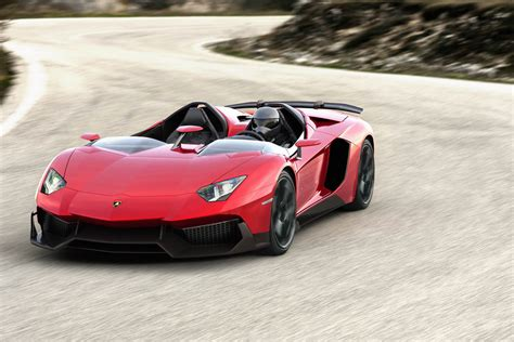 Lamborghini Aventador J roadster is a sport bike built for