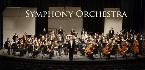 symphony of the symphony orchestra college of liberal arts