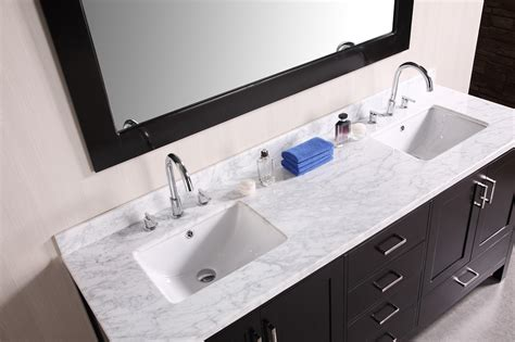 bathroom vanity sink top triangle re bath which type of bathroom sink is right for