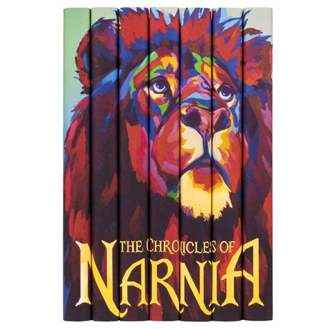 narnia picture books the chronicles of narnia complete book set juniper books