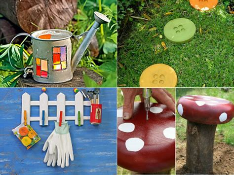 diy craft projects for the yard and garden diy garden decor ideas 6 projects for yard and patio