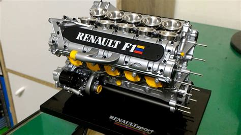 Renault F1 Engine by 1 5 Renault Rs9 V10 F1 Engine Repaired