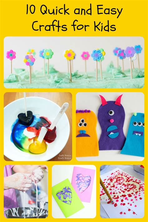 fast easy crafts easy fast crafts