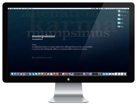 mac computer desk how to set a screen saver desktop background in os x
