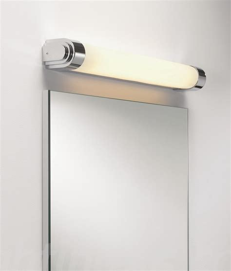 lighting for bathroom mirrors chrome deco wall light for bathroom mirrors and walls